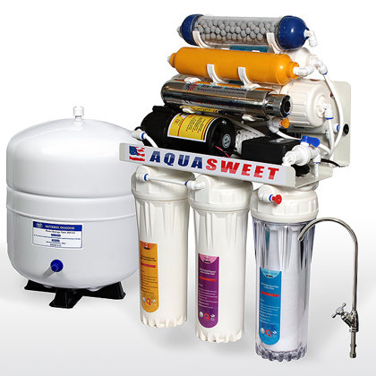 8 pakopų geriamo vandens filtras